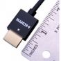 Vanco SSHDH1 Ultra Thin (36 AWG) HDMI Cable 1.5 Ft
