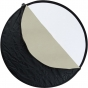 """PHOTO BASICS 40"""" 5 in 1 Reflector Kit w/arm & stand"""