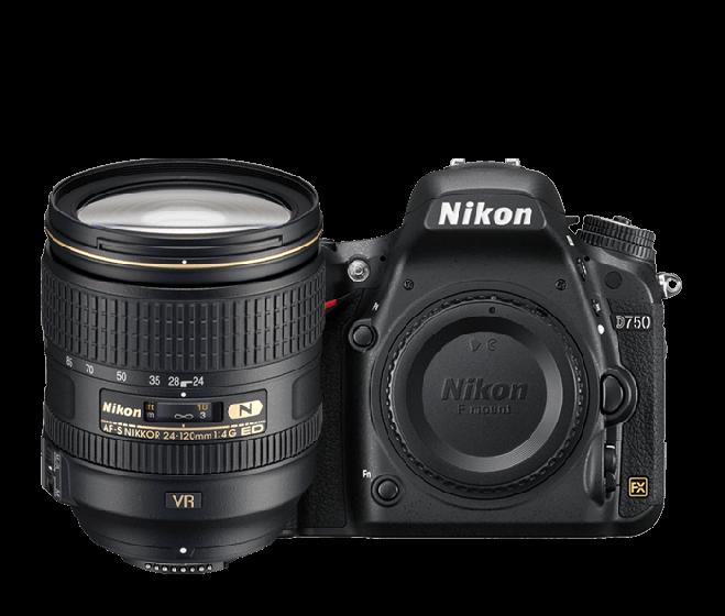 NIKON D750 HDSLR Kit with 24-120mm f/4 VR