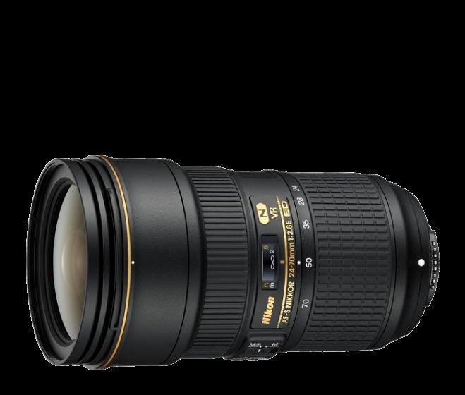 NIKON 24-70mm f/2.8 E ED AFS VR