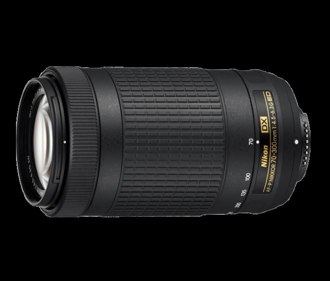 NIKON 70-300mm f/4.5-6.3 G AF-P NON-VR