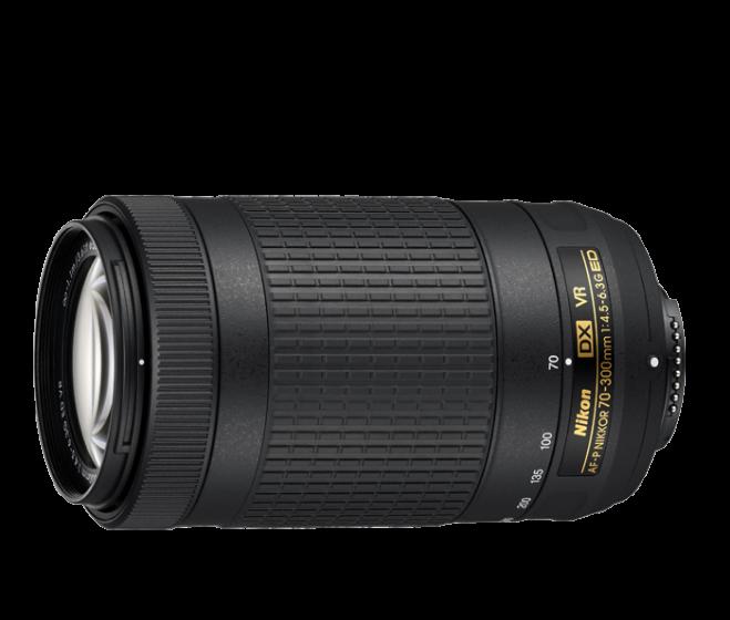 NIKON 70-300mm f/4.5-6.3 G AF-P VR Vibration Reduction Lens