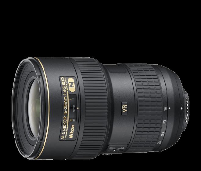 NIKON 16-35mm f4 ED VR AFS
