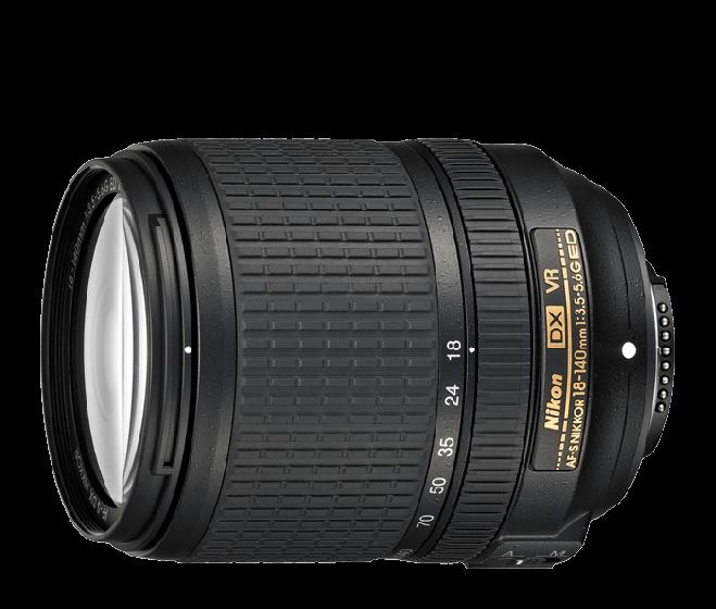 NIKON 18-140mm f3.5-5.6 DX ED VR Lens