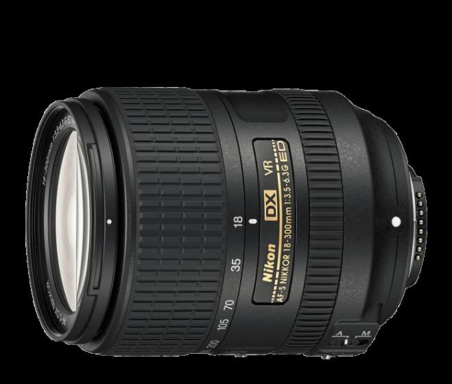 NIKON 18-300mm f3.5-6.3 G ED VR Updated Design!