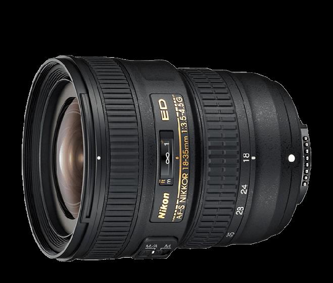 Nikon 18-35mm f3.5-4.5 FX G ED Lens