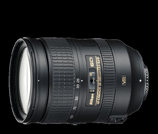 NIKON 28-300mm f3.5-5.6 G ED VR II