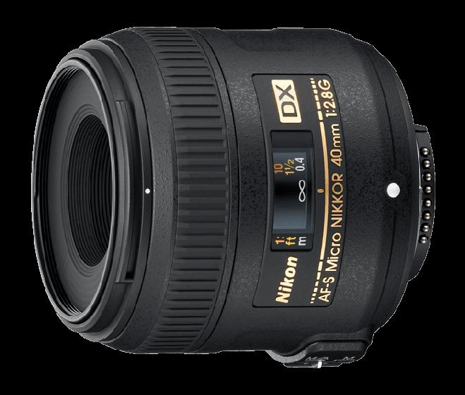 NIKON 40mm f2.8 G AFS DX Micro Lens
