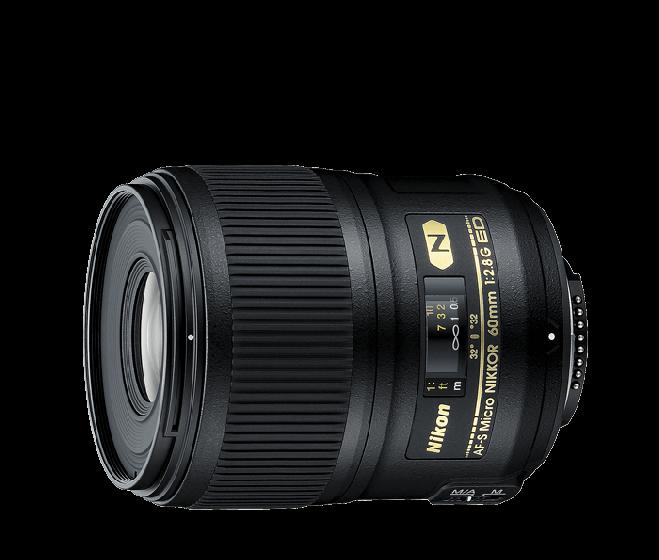 NIKON 60mm f/2.8 G AFS Macro Lens