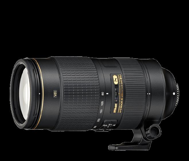 NIKON 80-400mm f/4.5-5.6 G ED VR Lens