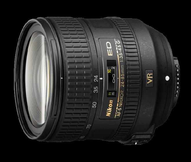 NIKON 24-85mm f3.5-4.5 ED VR