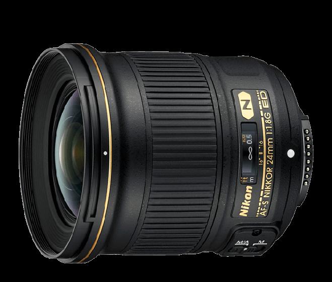 NIKON 24mm f 1.8 G ED AFS Lens
