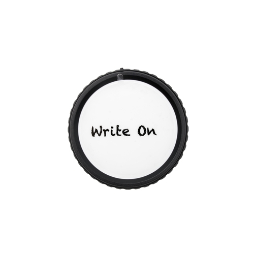 ProMaster Nikon F rear lens cap Write-On        incl. grease pencil