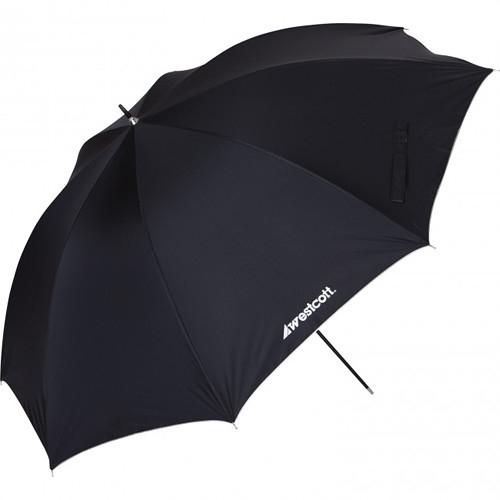 "WESTCOTT 45"" Optical White Umbrella w/ Removable Black"