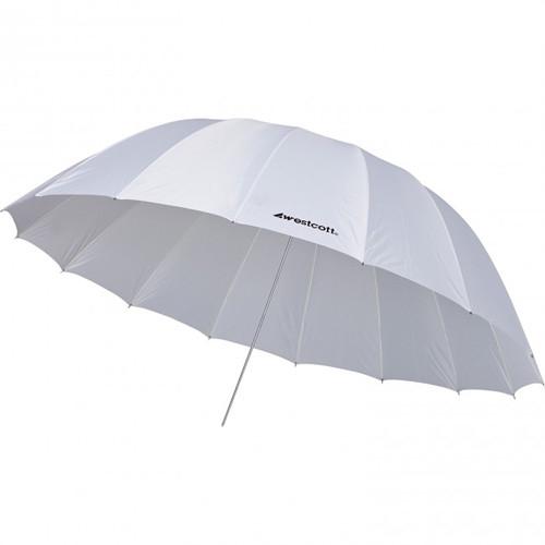 WESTCOTT 7' Parabolic Umbrella White Diffusion