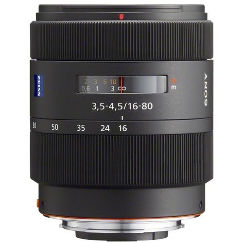 SONY 16-80mm f/3.5-4.5 Zeiss Alpha mount Vario Sonnar T*