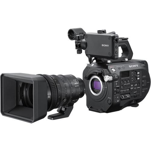 SONY PXW FS7 II Camcorder Kit w/ 18-110 Zoom  Lens XDCam 4K