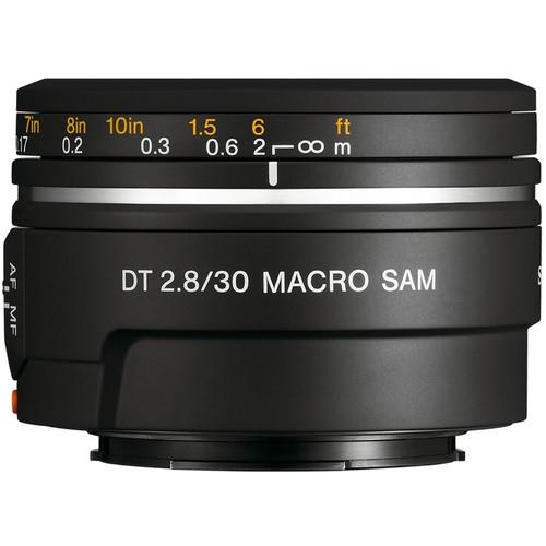 SONY Alpha 30mm f2.8 macro Lens  A mount