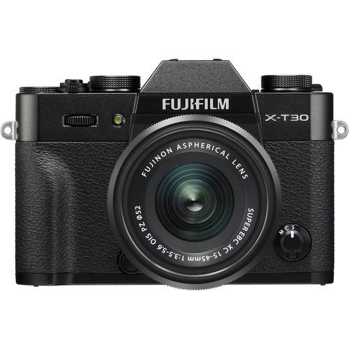 FUJI X-T30 with 15-45mm Lens Kit (Black)