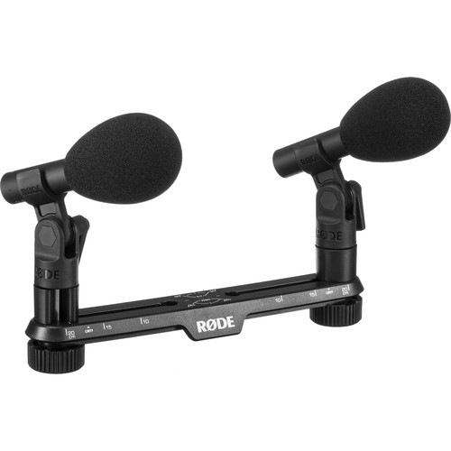 RODE TF-5 MP Cardioid Condenser Microphones with Stereo Mount-Black