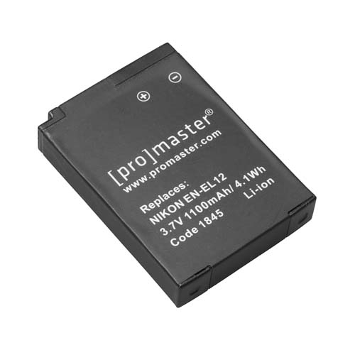 ProMaster ENEL12 battery     Nikon