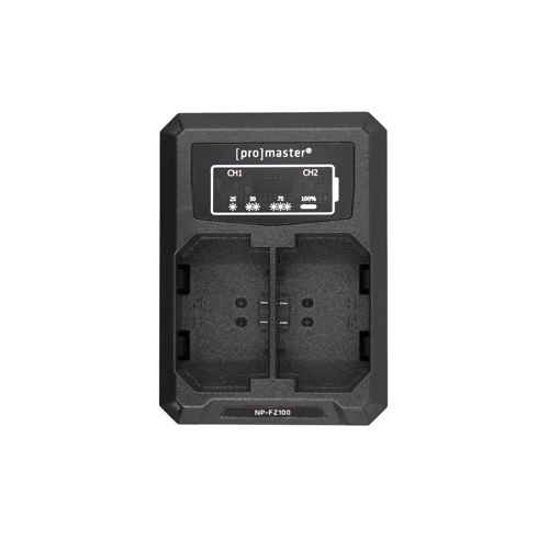 ProMaster Battery & Charger Kit for Sony NPFZ100