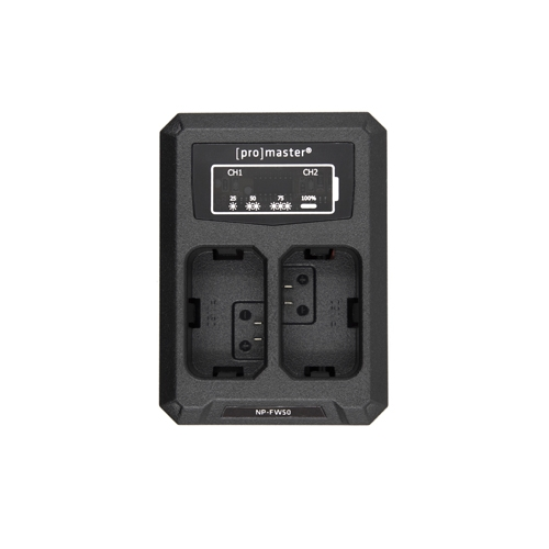 ProMaster NP FW50 Battery/Charger Kit for Sony