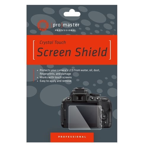 ProMaster Crystal Touch Screen Shield              Nikon D750