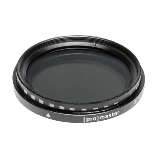 ProMaster 37mm Variable ND Filter