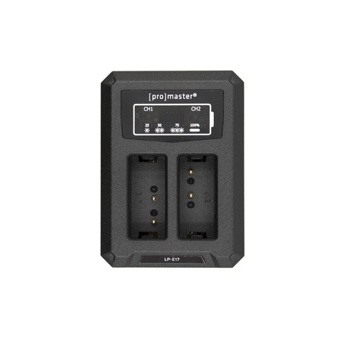 ProMaster Dually Charger - USB for Canon LPE17
