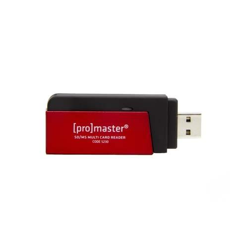 ProMaster USB card reader SD Secure Digital & MMC