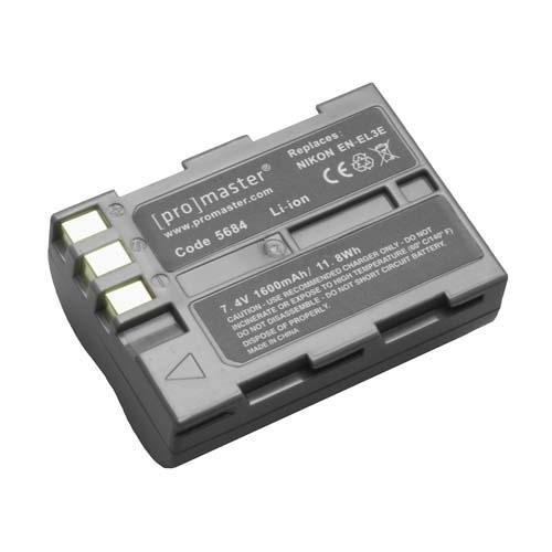 ProMaster ENEL3E battery     Nikon