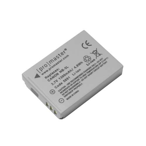 ProMaster NB5L battery       Canon