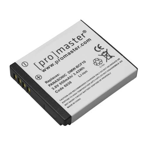 ProMaster BCF10 battery   Panasonic