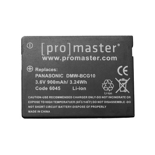 ProMaster BCG10 battery   Panasonic