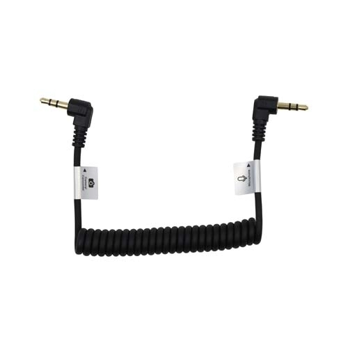 """ProMaster AudioCable 3.5mm TRS M R Angle-3.5mm TRS Male R Angle 8.5""""C"""