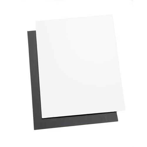 ProMaster Digital Exposure Cards 2-pk Gray and White   8x10