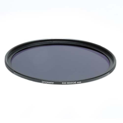 ProMaster ND4x (.6)  2 stop 58mm Neutral Density Digital HD