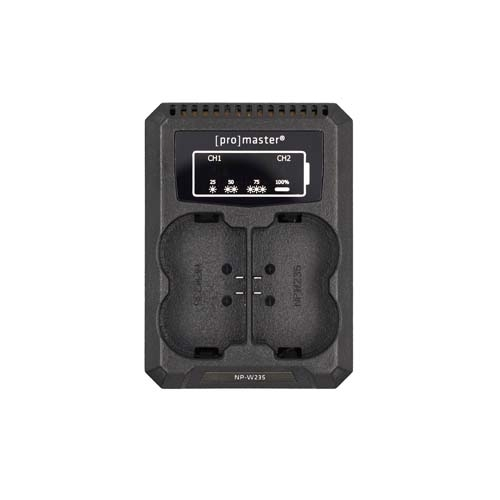 ProMaster Dually Charger - USB for Fuji NP-W235