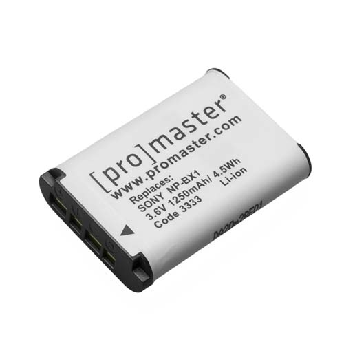 ProMaster NP BX1 battery     Sony