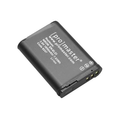 ProMaster ENEL23 battery     Nikon