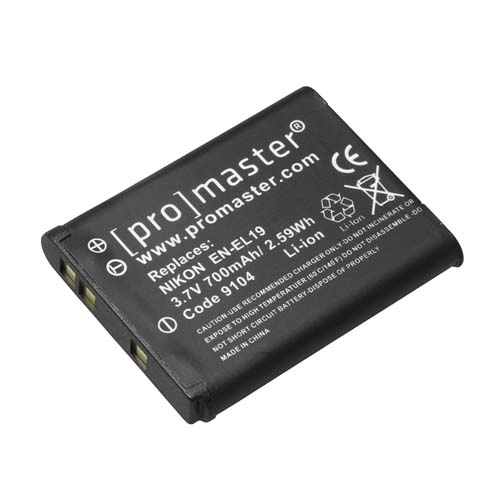 ProMaster ENEL19 battery     Nikon