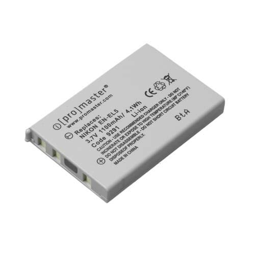 ProMaster ENEL5 battery      Nikon
