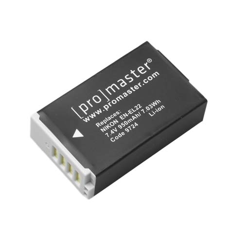 ProMaster ENEL22 battery     Nikon