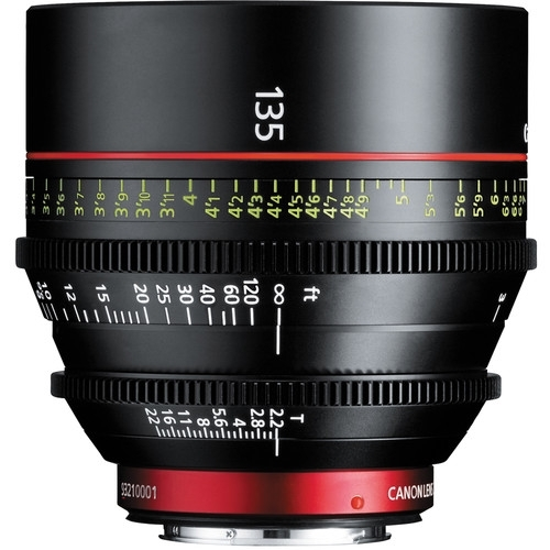 CANON 135mm t2.2 EF cinema lens