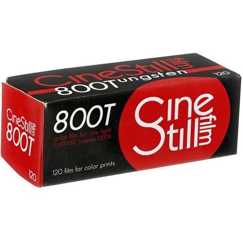 CineStill Film 800 Tungsten 120 Boxed