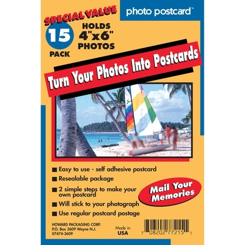 Photo Postcard 4x6 - 15 Pack