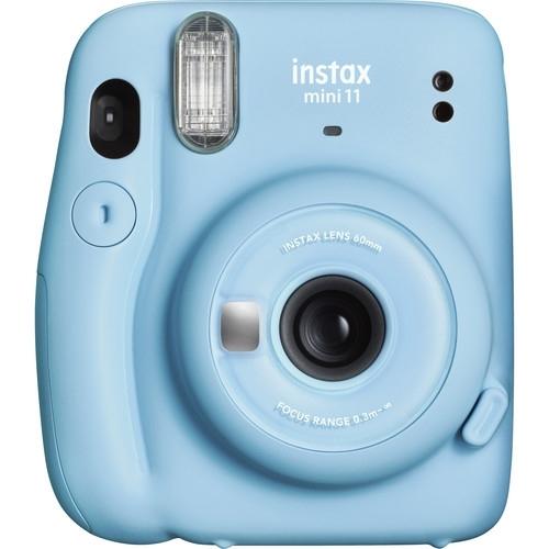 FUJI Instax Mini 11 Instant Camera (Sky Blue)