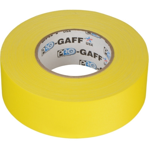 """PRO TAPES Yellow 2""""x60 yds Pro Gaffer Tape"""