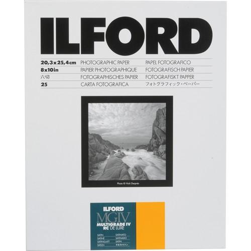ILFORD Multigrade IV RC Deluxe 8X10/25 Satin